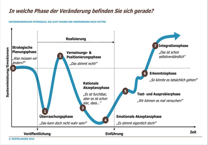 Change Management Phasen